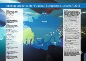 Die Rückseite des EM Planers enthält Informationen zu den Stadien und zum Spielmodus