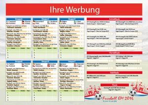 Planer für die Fussball EM 2016