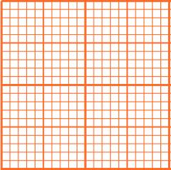 Abbildung von Millimeterpapier Quadraten
