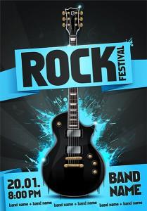 Poster Rockkonzert