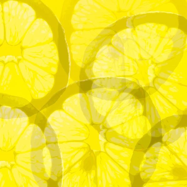 Zitronenscheiben Hintergrund